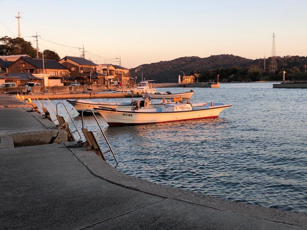 Ushimado by the sea 牛窓