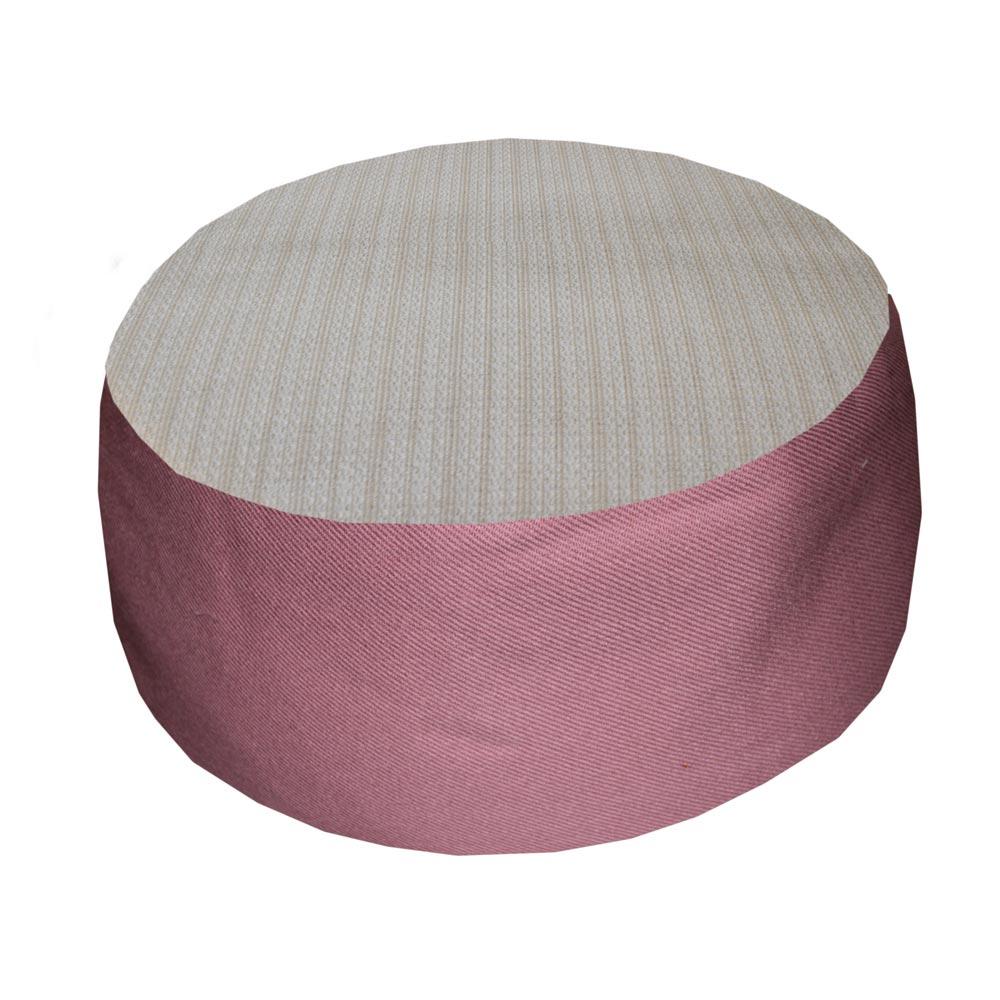 Gebroken wit met roze zijkant