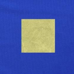 Lichtgroen op kobaltblauw