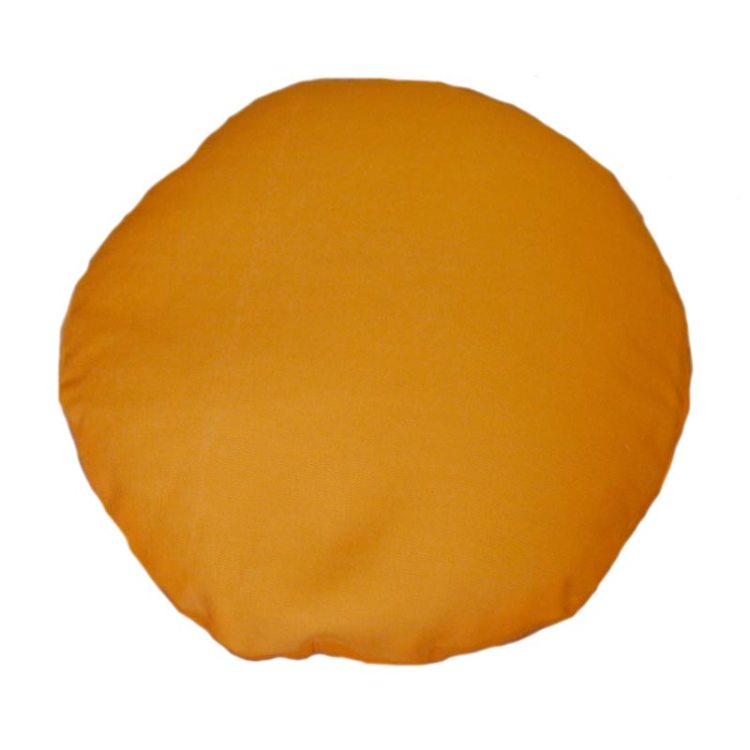 Ophoogkussen, oranjegeel
