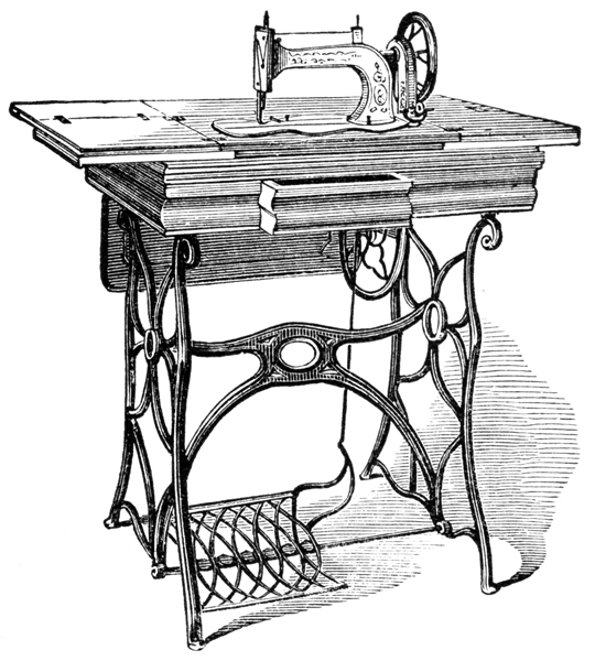 Antique Singer Sewing Machines