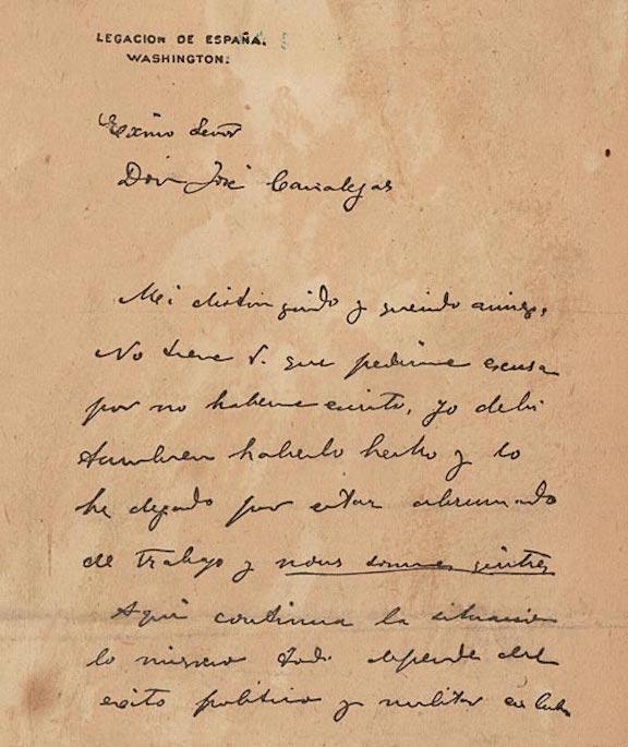 De Lôme Letter (1898)