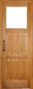 дверь межкомнатная деревянная из массива дуба СР1Г-БГ