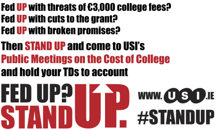 USI to host nationwide series of Public Meetings on cost of college and Budget 2013
