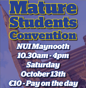 Mature Students Convention