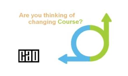 Considering changing courses?