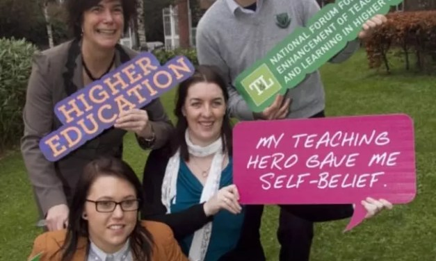 The National Forum for the Enhancement of Teaching & Learning Launch Student Led 'Teaching Hero' Awards in Higher Education