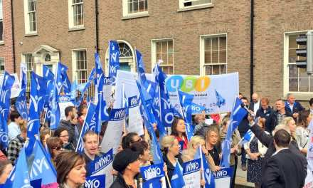 USI support INMO protest as 93% of Student Nurses say they have thought about emigrating