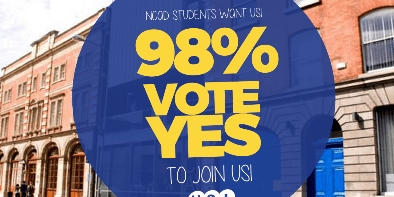 98% of NCADSU Vote Yes to Join USI
