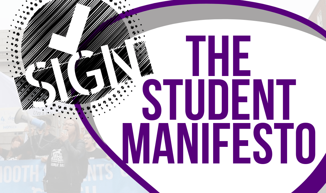 South #EP2019 Candidates Signed up to the Student Manifesto