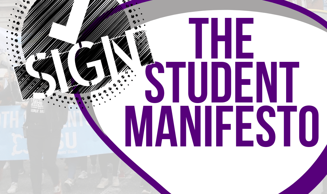 Dublin #LE2019 Candidates Signed up to the Student Manifesto