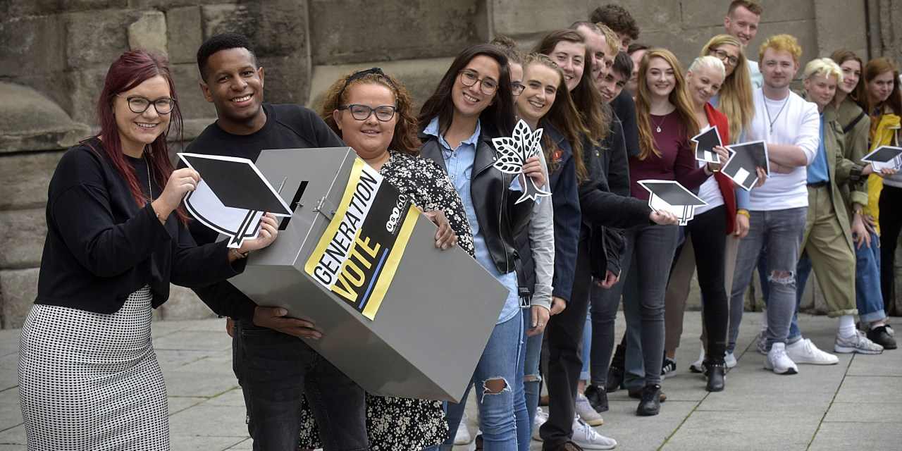 Students Register to Vote Ahead of 2019/2020 Elections
