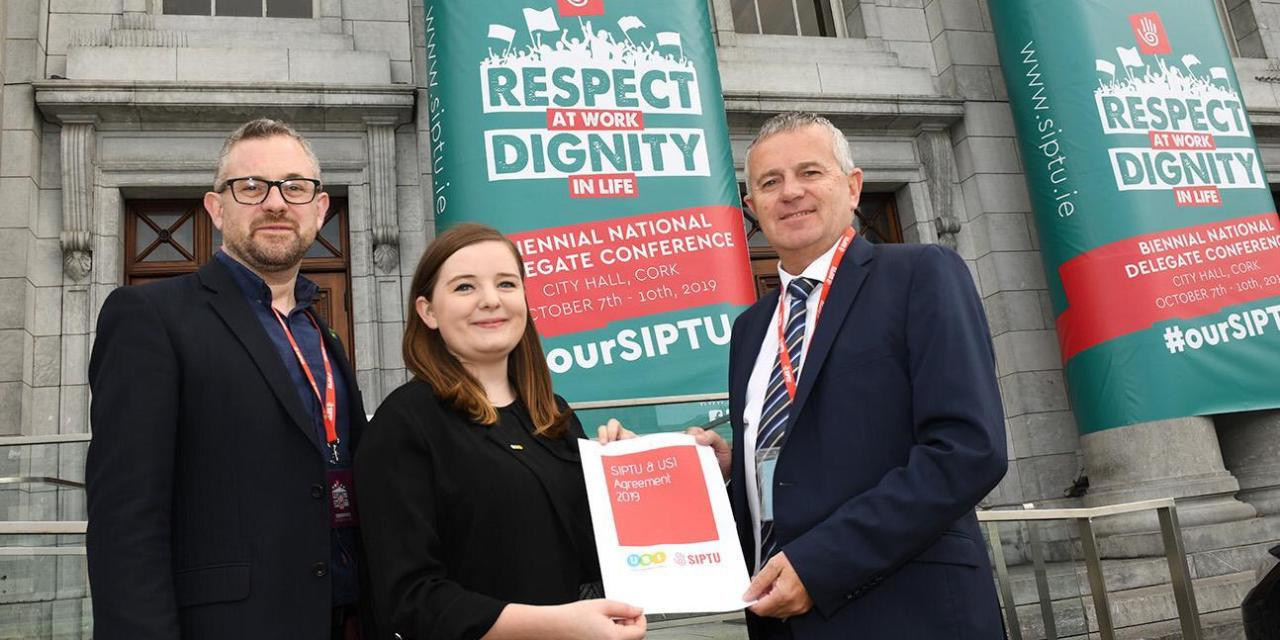 USI & SIPTU Renew Joint Agreement