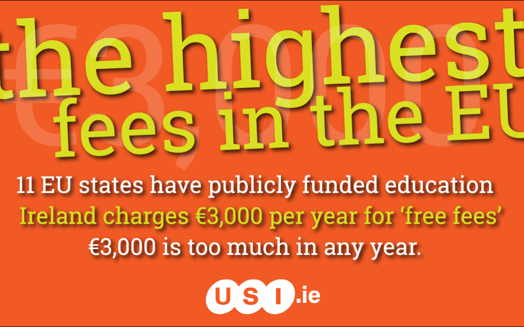 USI President sets out student choices for the future of higher education in Ireland