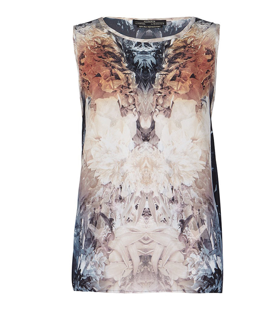 AllSaints Wither Tank digital print