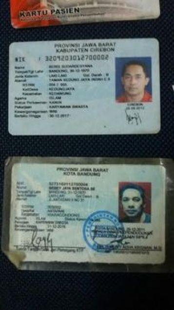 Begini 2 KTP Cirebon dan Bandung yang Dimiliki Buron Pembobol ATM Rp 2,9 M