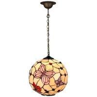 Tiffany hanging lamp Butterflies - Usi Maison
