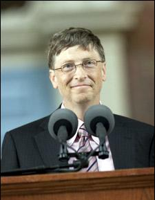 Bill Gates at Harvard Commencement