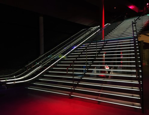 Entrance steps at the Van Gogh Museum