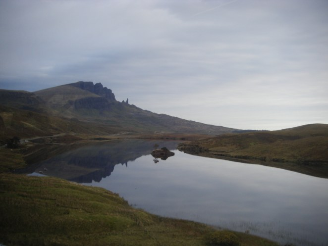 Old man of Storr on the Isle of Skye.