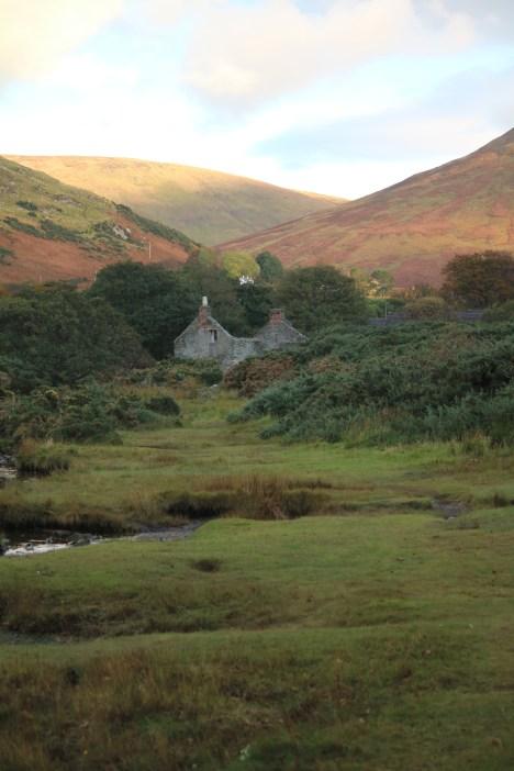 Ruin near Lochranza