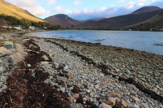 Beach at Lochranza