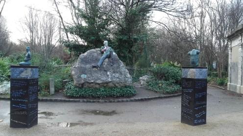 Oscar Wilde corner.