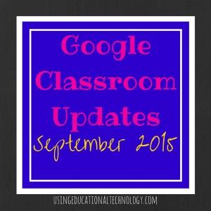 Google Classroom Updates (1)