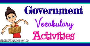 Government Vocabulary Day!