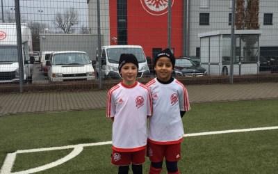 Probetraining bei Eintracht Frankfurt