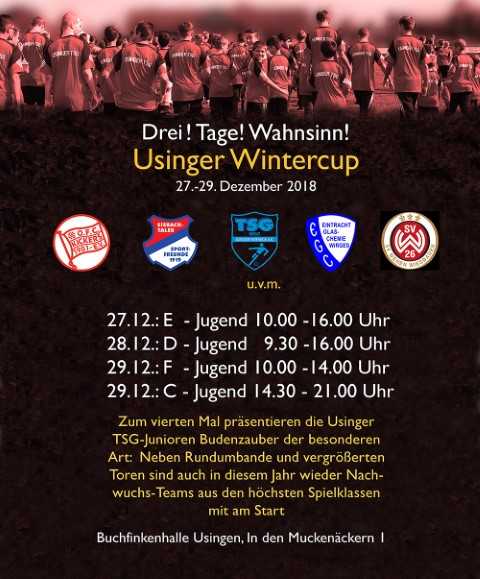 Usinger Wintercup – Jugendfußball