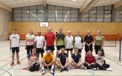 BADMINTON Taunus Cup Turnier bei der UTSG