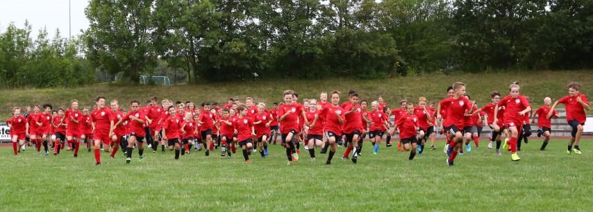 UTSG Jugendfußballer nehmen den Trainingsbetrieb wieder auf