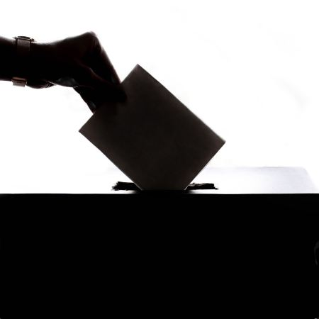 Ballot box - voting on the climate election