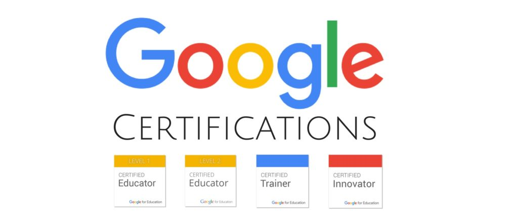google certifications