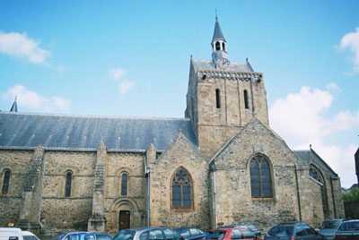 Notre Dame church, Pontorson
