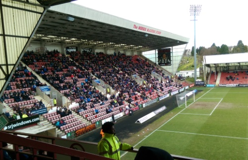 Norrie McCathie stand