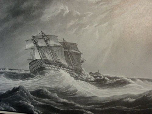 HMS Magnificent (1806) by Gilbert (artist); C. Hunt (engraver); Ackermann & Co (publishers) - NMM collection, ref PAH9217, Public Domain, https://commons.wikimedia.org/w/index.php?curid=8052832