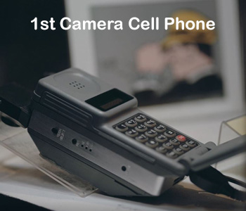 1st Camera Cell Phone - David Monroe
