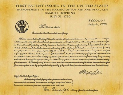 1st US Patent - Patent Rights - Inventor Rights