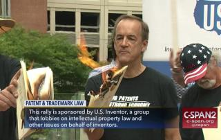 Inventor Rally Burning Patents - US Inventor