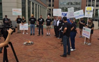 Patents on fire - US Inventor protest