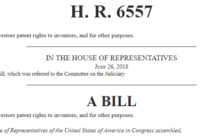 H.R. 6557 Inventor Protection Act