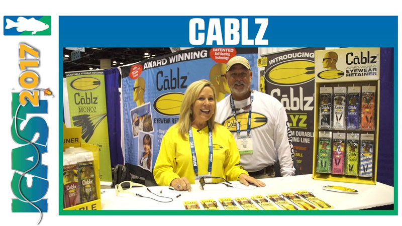 Cablz at ICAST - Ron Williams