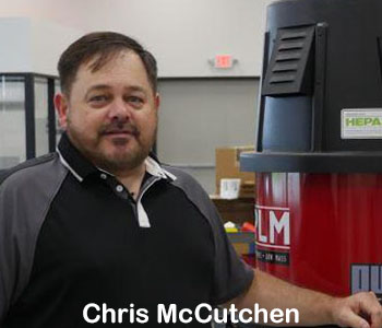 Chris McCutchen - Pulse-Bac filtered vacuum systems