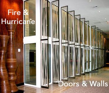 Fire-Hurricane Doors-Walls