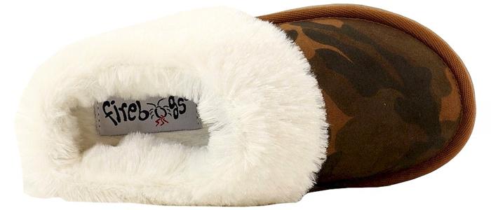 Fur-lined Firebugs light-up shoewear