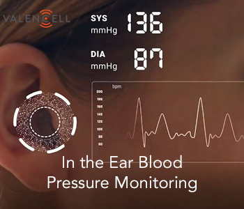 In the Ear BP Monitoring - Valencell