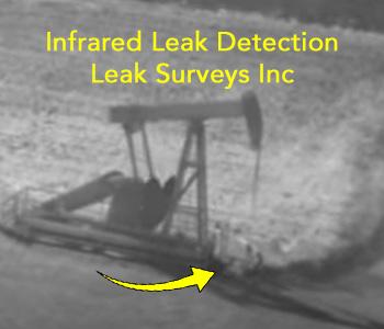Leak Surveys - infrared leak detection