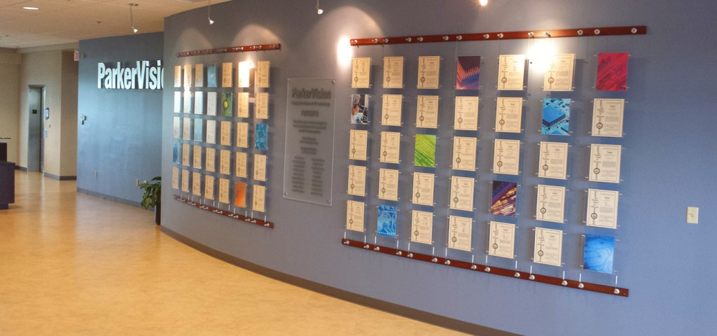 ParkerVision Patent Wall
